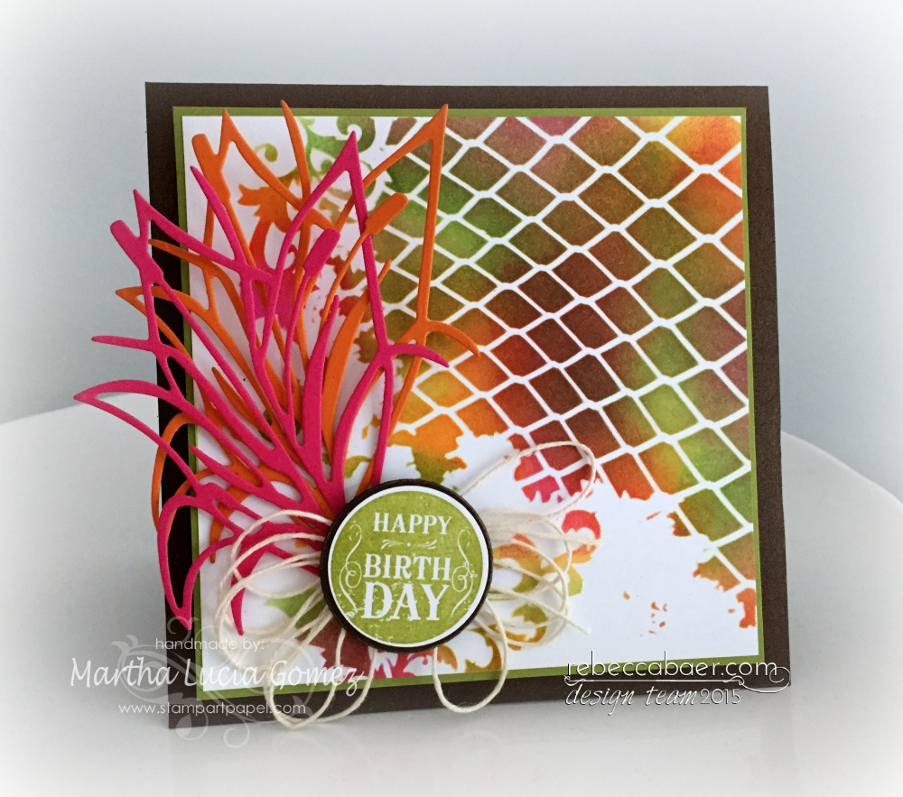 EMBOSSING WITH URBAN JUNGLE
