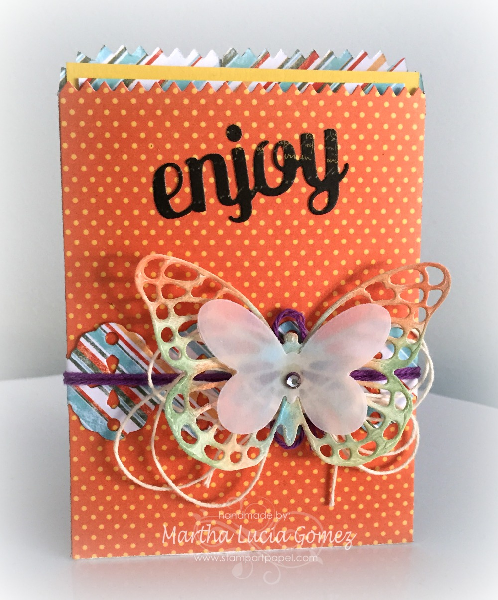 MINI TREAT BAG WITH CARD
