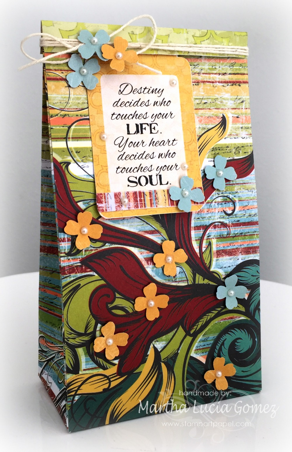 Whistlin' Dixie Gift Bag for QUICK QUOTES designed by Martha Lucia