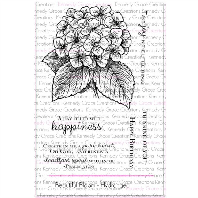 Beautiful Blooms Stamp Set by Kennedy Grace