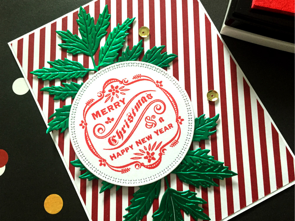 Christmas labels for Cards