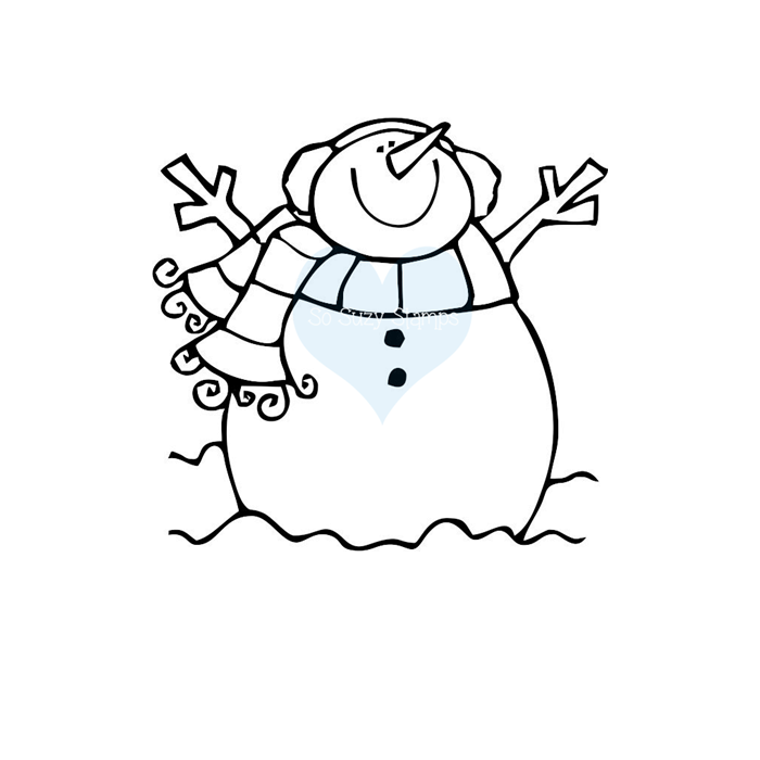 Snowman Joy by So Suzy Stamps
