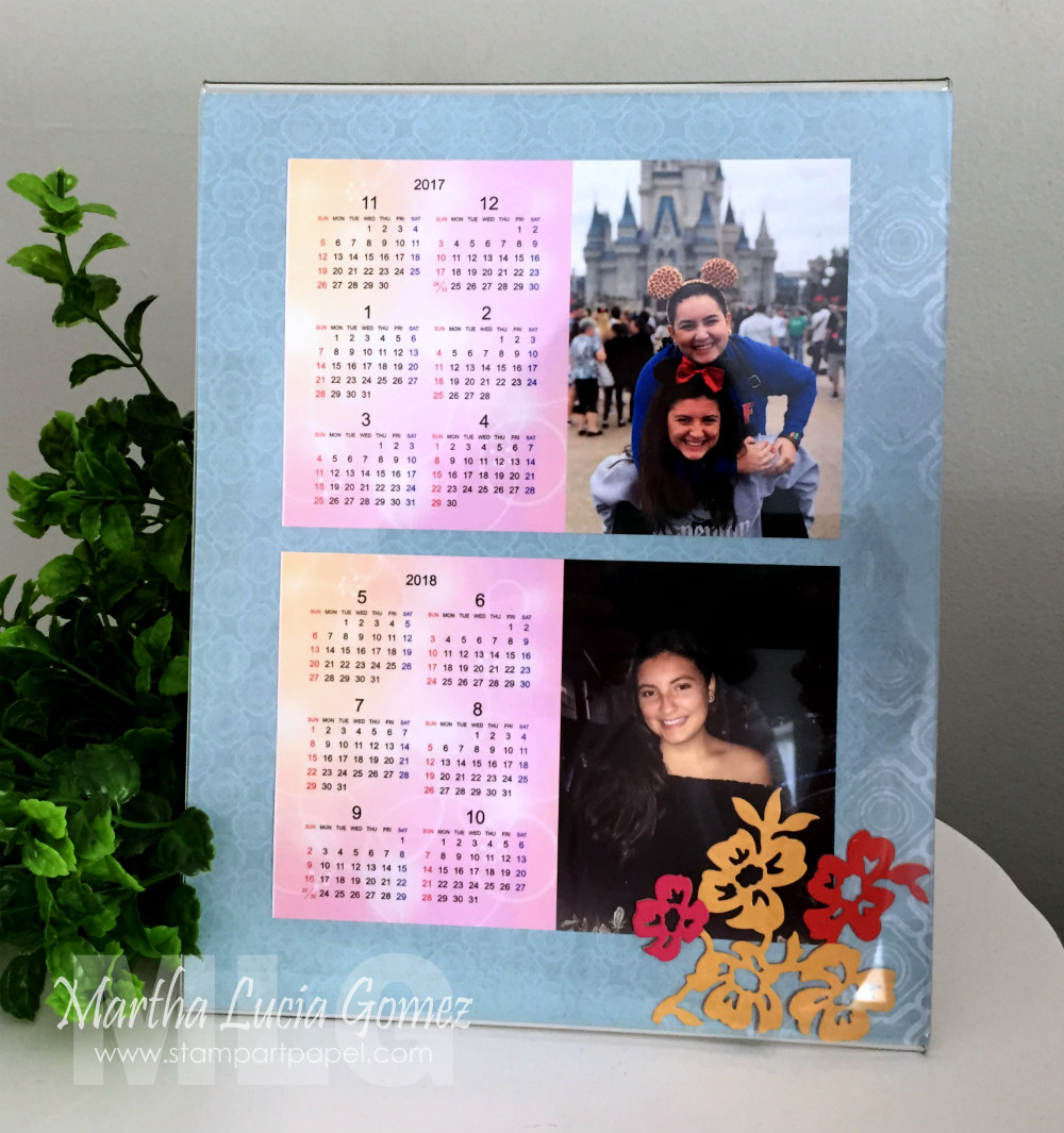 Printed Calendar with photos