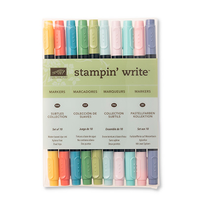 Subtles Stampin Write Markers