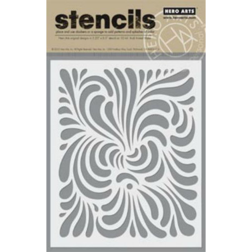 Swirl Stencil by Hero Arts
