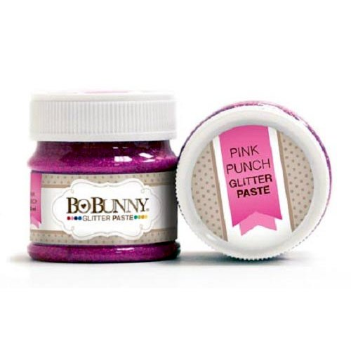 BoBunny Glitter Paste Pink Punch
