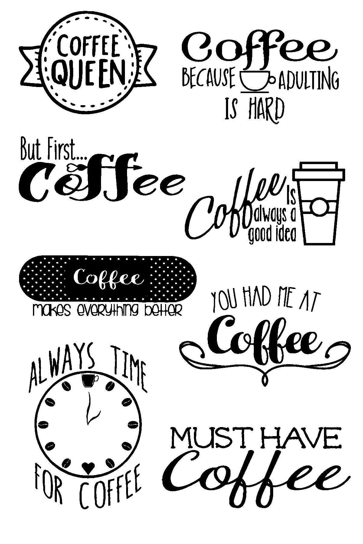Coffee Quotes by Joy Clair