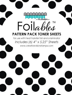 Foilable Pattern Toner Sheets - Geometric 24