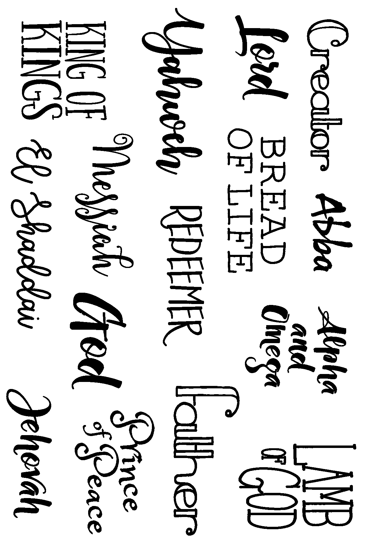 Many Names by Joy Clair