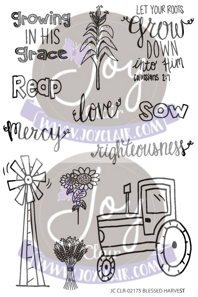 Blessed Harvest Stamp Set