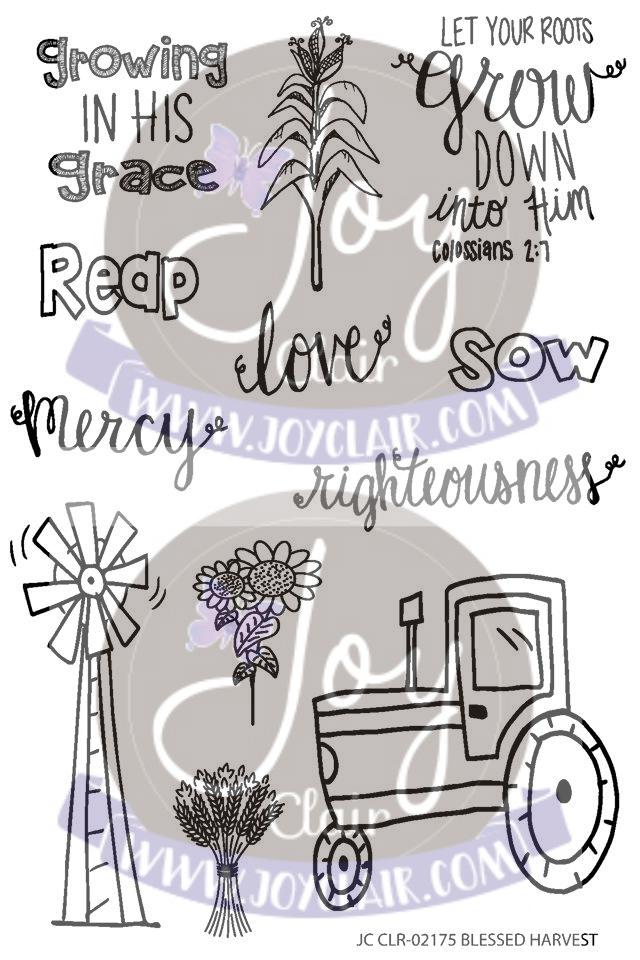 Blessed Harvest Stamp Set