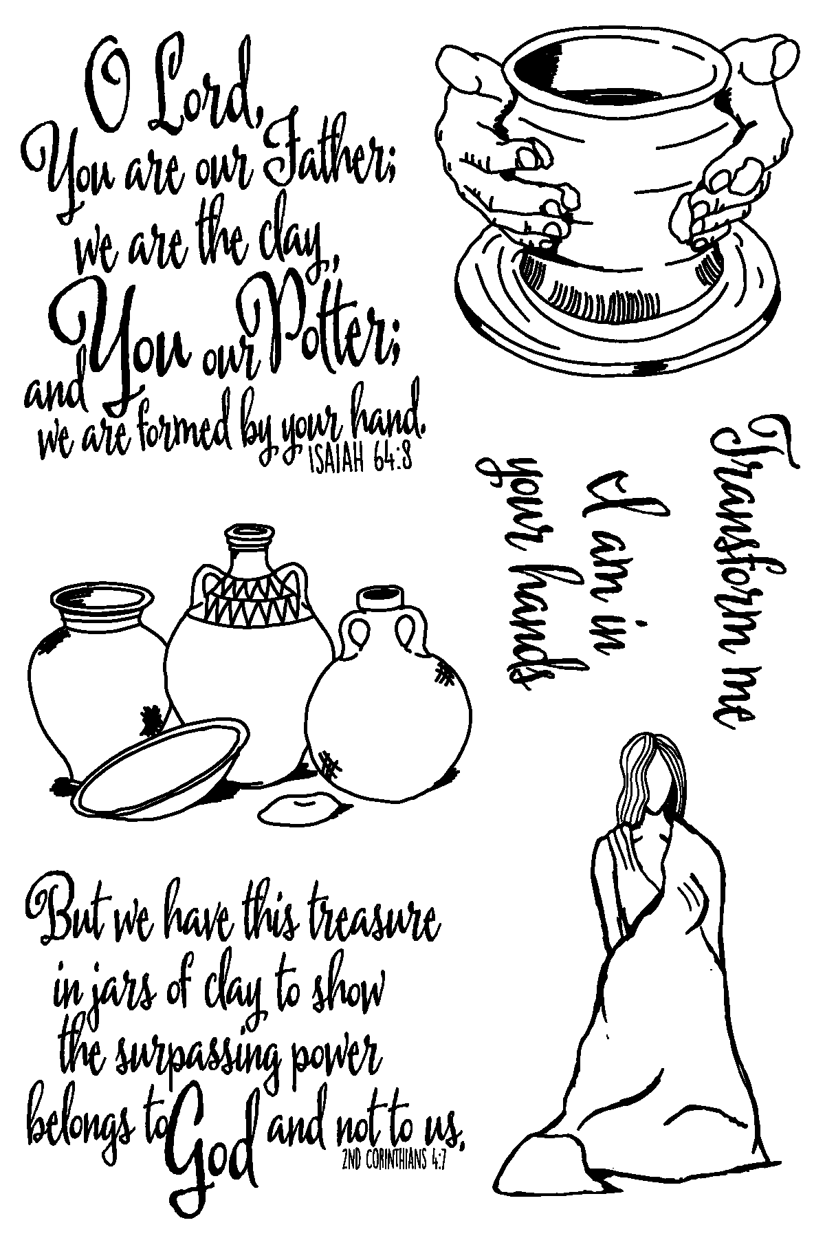 The Potter Stamp Set
