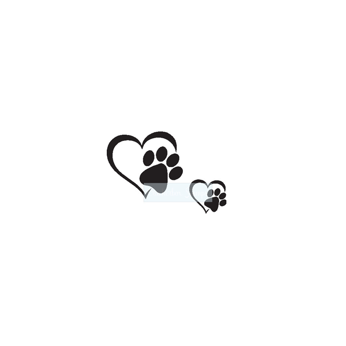 Pet hearts Set of 2
