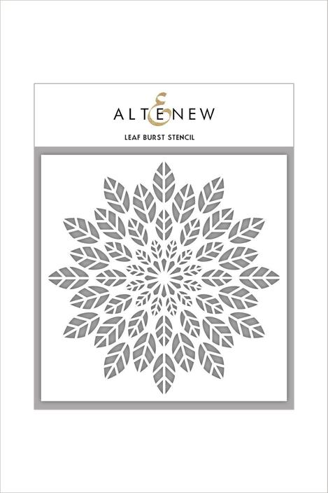 Leaf Burst Stencil by Altenew