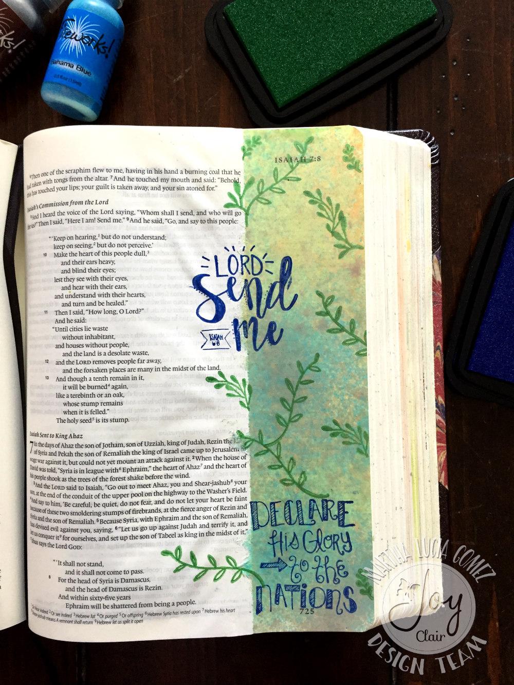 CHRISTMAS TAGS AND BIBLE JOURNALING