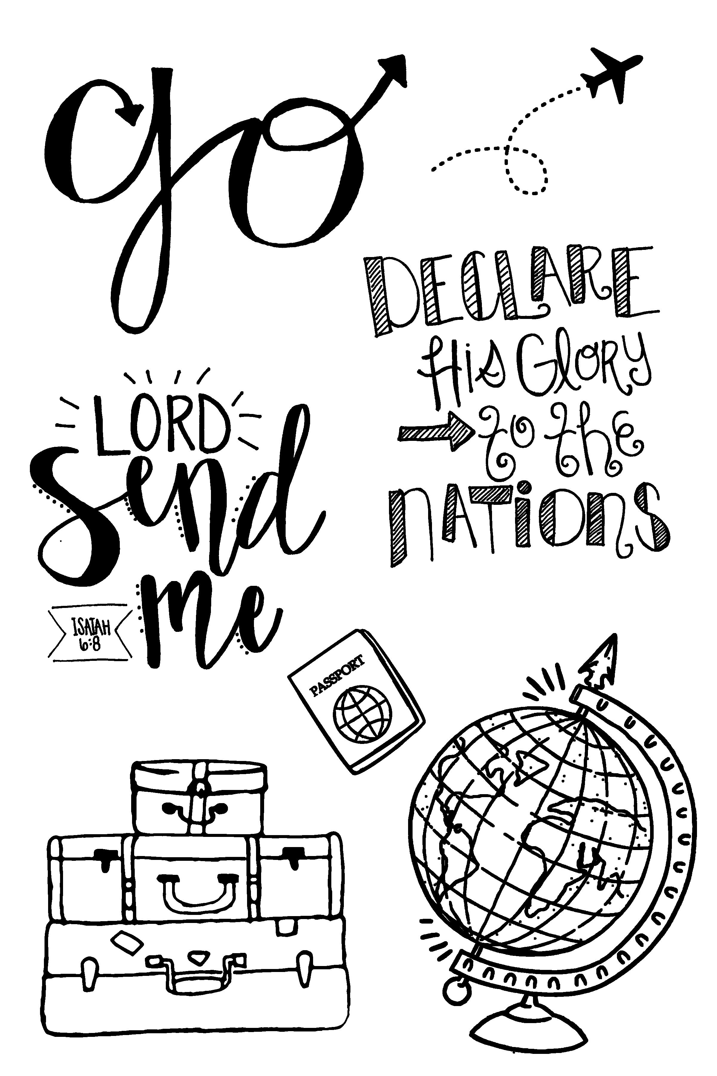 Send Me Stamp Set by Joy Clair