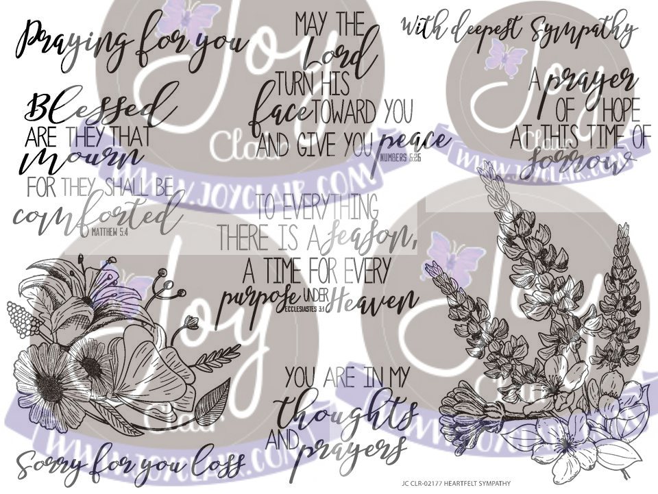 Heartfelt Sympathy Stamp Set