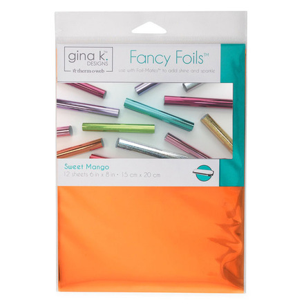 Gina K. Fancy Foil - Mango