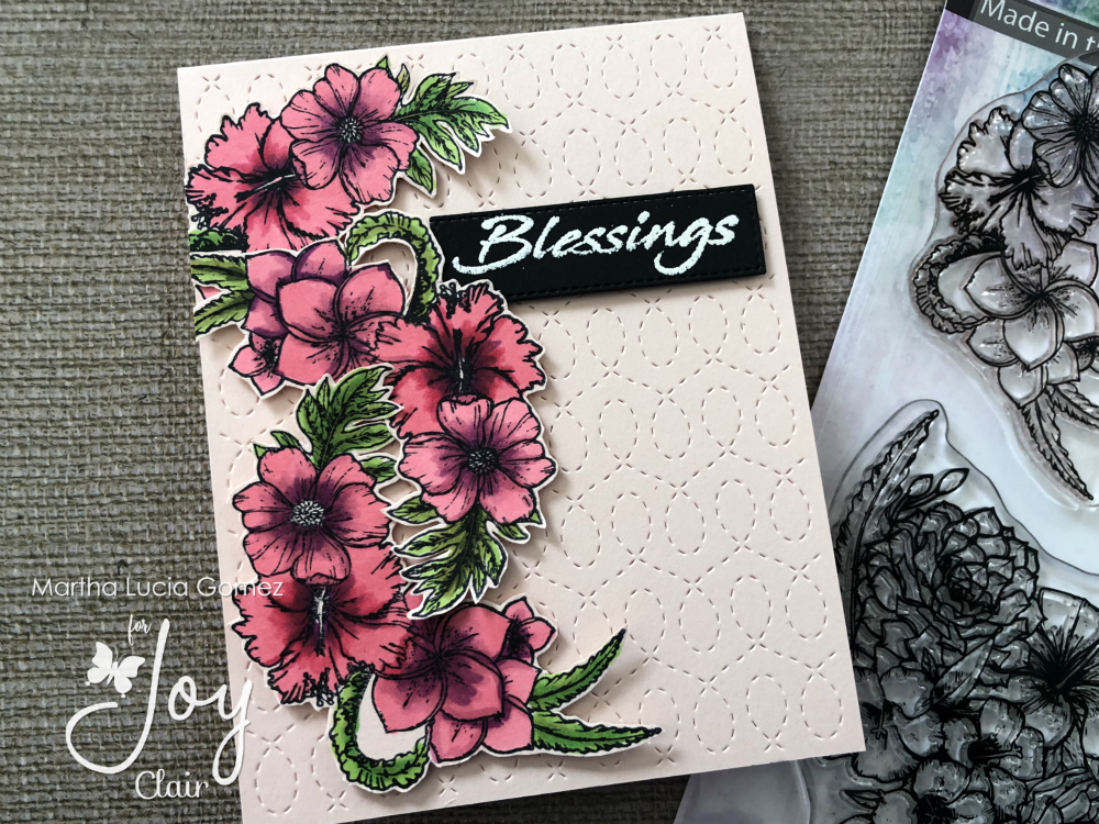 Martha's Flowers Stamp Set