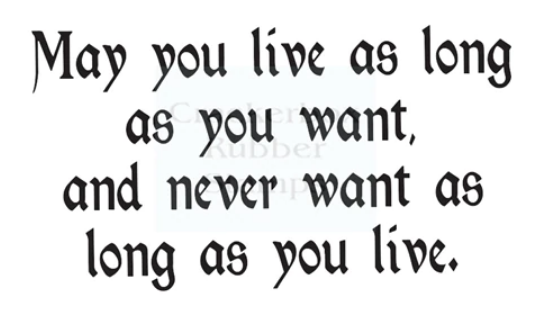 Long as you Live