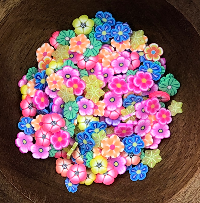 Mixed Flower Sprinkles