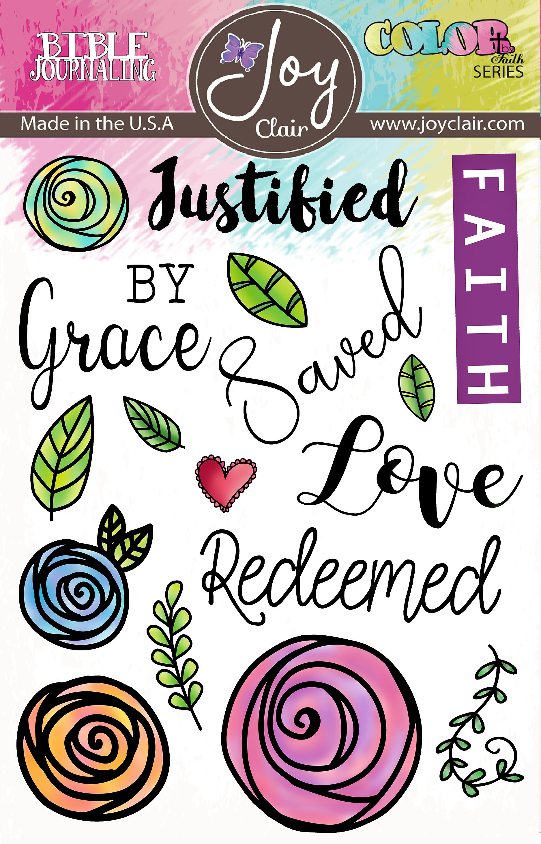 Saved by Grace Stamp Set