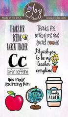 Teacher Stamp Set by Joy Clair