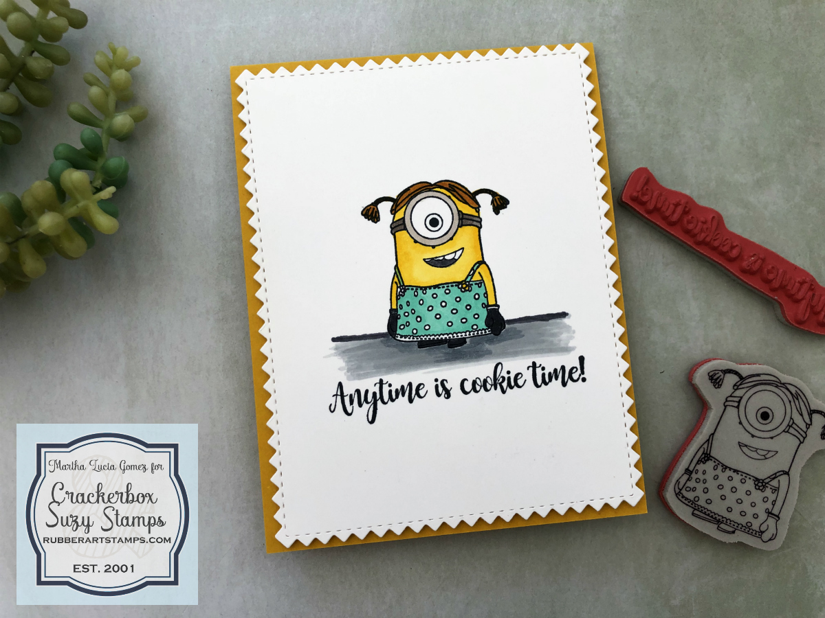 The Minions are in Crackerbox & Suzy Stamps