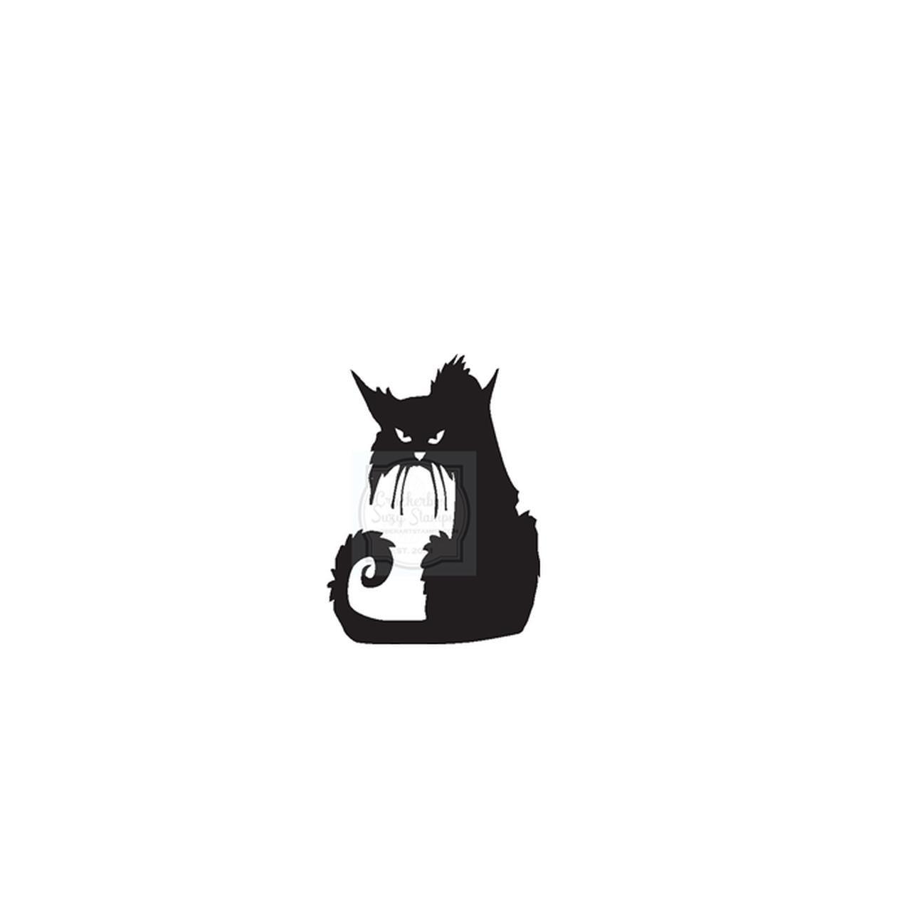Crabby Cat Stamp