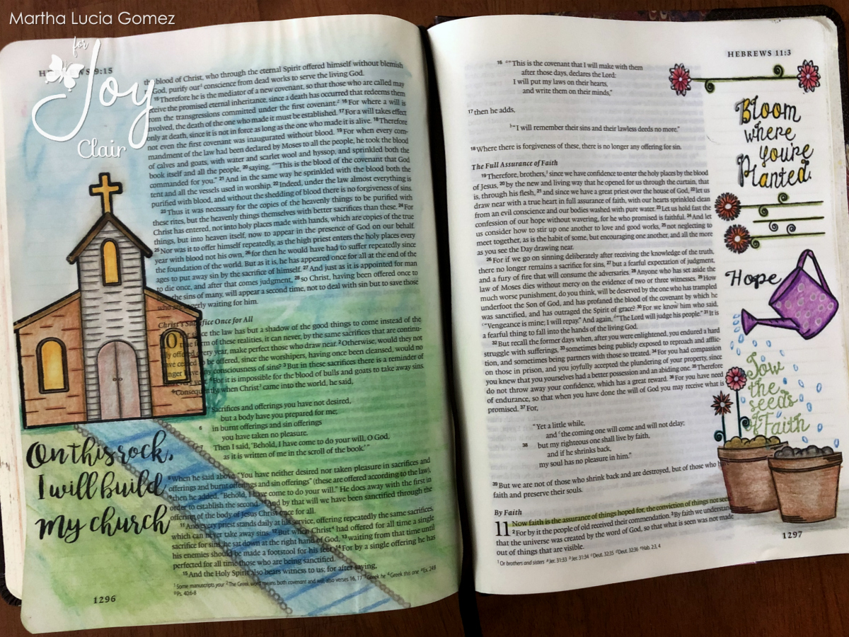 Bible Journaling with Leisure Arts
