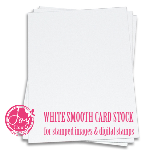 White Smooth Card Stock