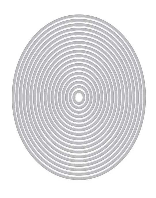 Nesting Oval Infinity Dies