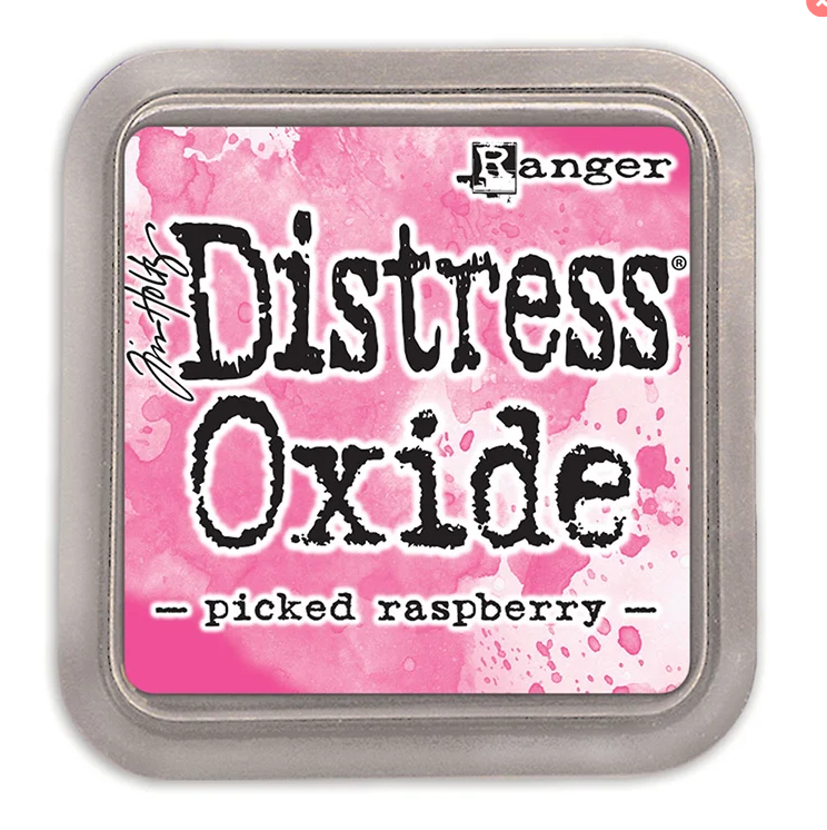 Picked Raspberry Distress Oxide Ink