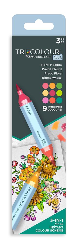 TriColour Aqua Markers