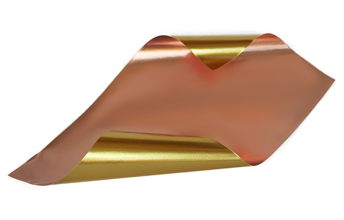 Cooper/Gold Glossy Rinea Foiled Paper