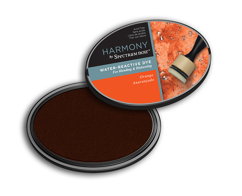 Harmony Water Reactive Dye Orange Ink